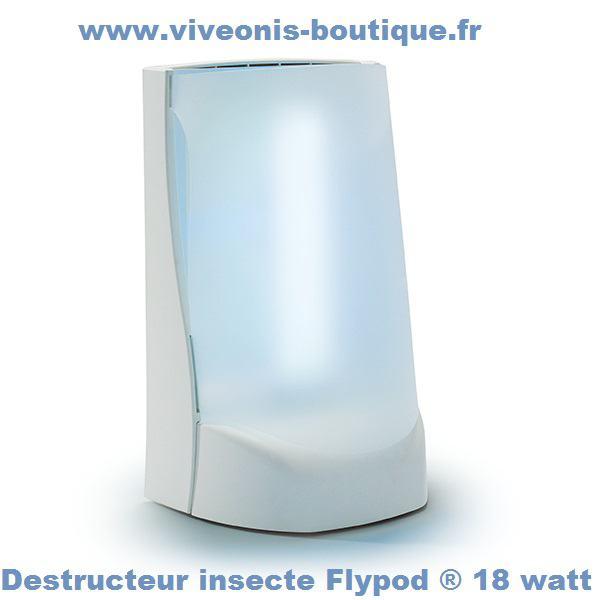 DESTRUCTEUR INSECTES Flypod ® 18 watt