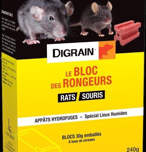 ANTI-RATS Bloc hydrofuge de 30g