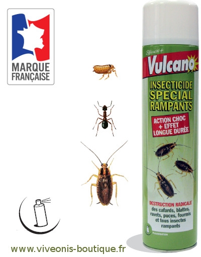 anti-insectes rampants Aerosol 600ml