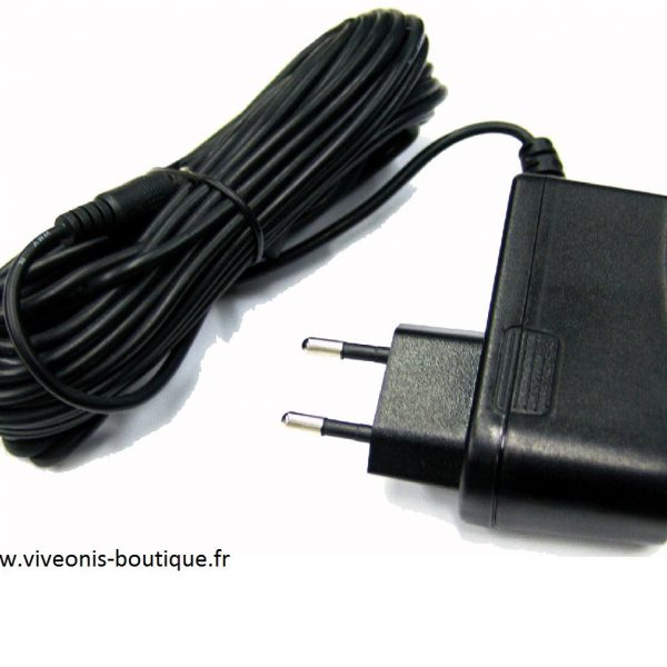 cordon alimentation transformateur prise electrique 12V Biogents®