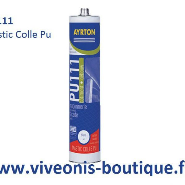 Mastic colle POLYURETHANE PU111 / PU222 soudal ayrton 300ml