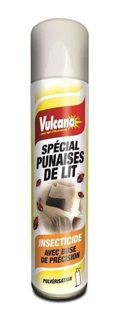 Insecticide Spécial punaises de lit effet choc et rémanent aérosol 400ml pulvérisation