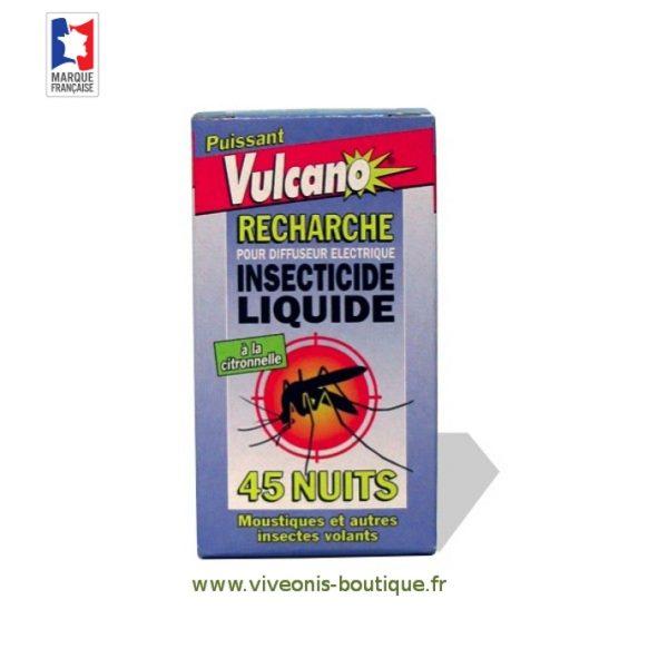 Recharge liquide anti-moustiques pour Diffuseur Electrique