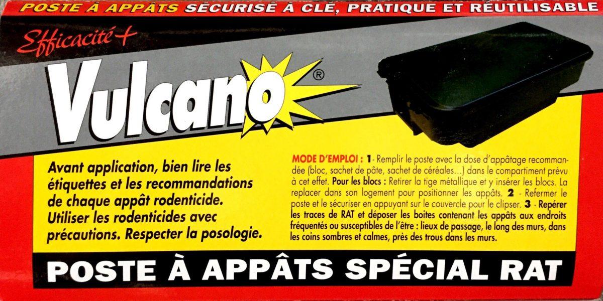 Poste à appâts SPECIAL RAT sécurisé