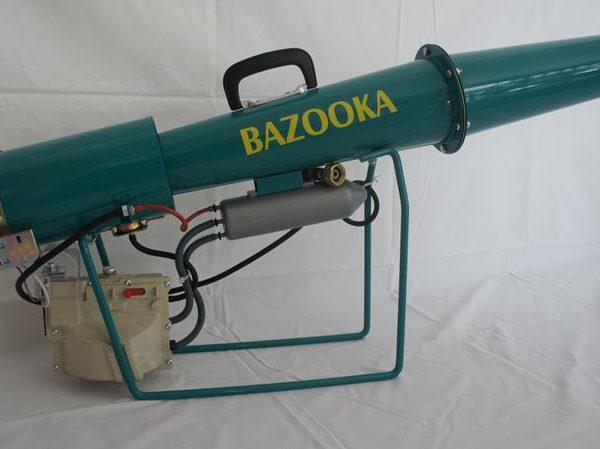 Canon EFFAROUCHEUR bazooka mécanique DBS-MC sur fond