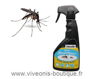 Spray ANTI-MOUSTIQUES pour protéger vos intérieurs des moustiques