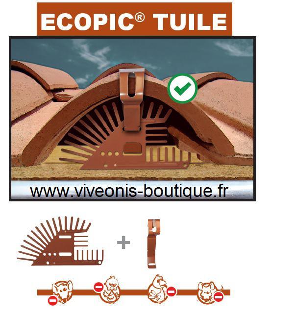Produit obturatuile Ecopic® Tuile