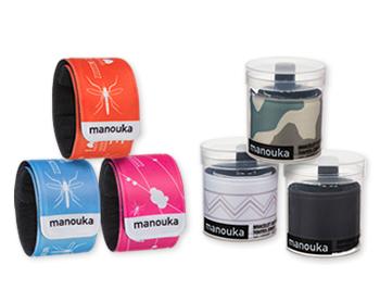 Bracelet MANOUKA repulsif anti-moustiques Moskitos