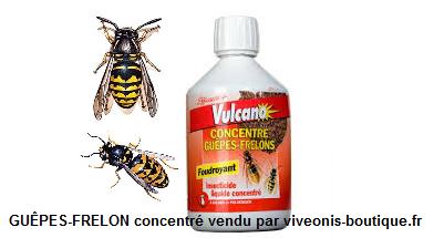 Concentré anti-guêpes frelons vulcano 500ml RESERVE AUX PROFESSIONNELS