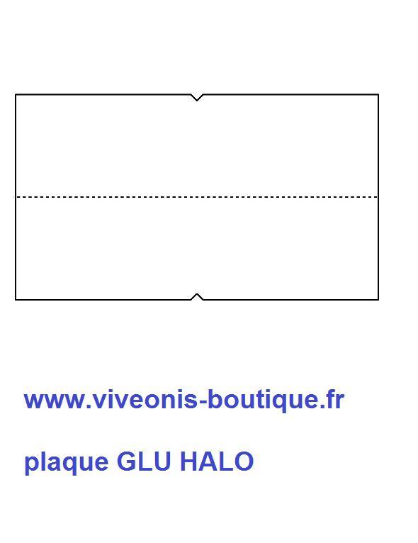 Plaques Glue pour HALO 15W GB015