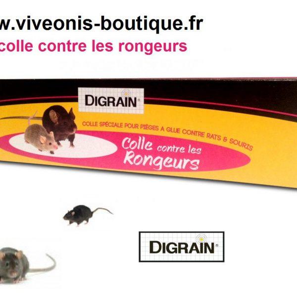 Colle Digrain en tube contre les rongeurs et les insectes