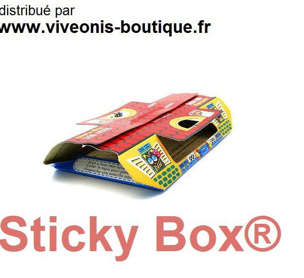 Piège à glu Cafard Sticky Box® anti-cafards lot de 5