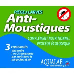 Recharge Piege à Larves anti-moustique AQUALAB® Aedes Control Project