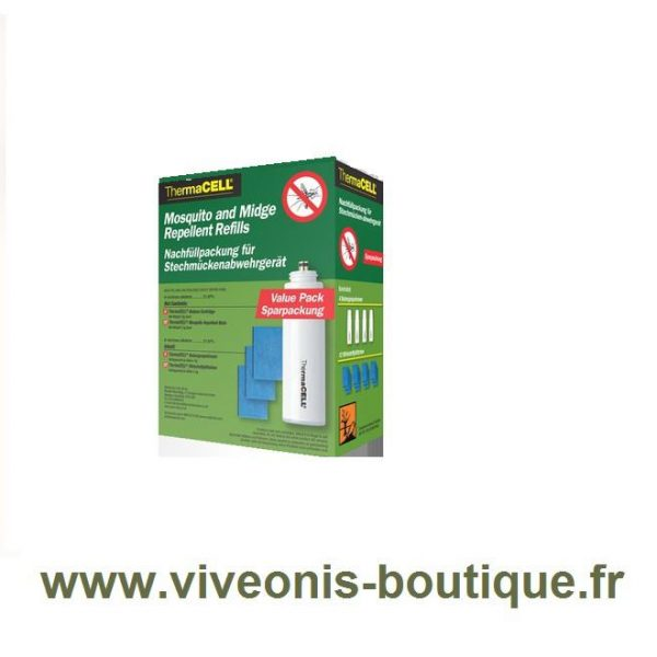 Recharge 48H pour portable Nomade Anti-Moustiques ThermaCELL