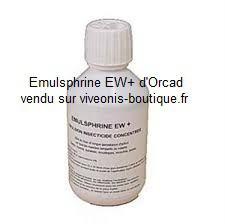 Emulsphrine concentré EW+ fiole 250ml Orcad vendu sur viveonis-boutique.fr