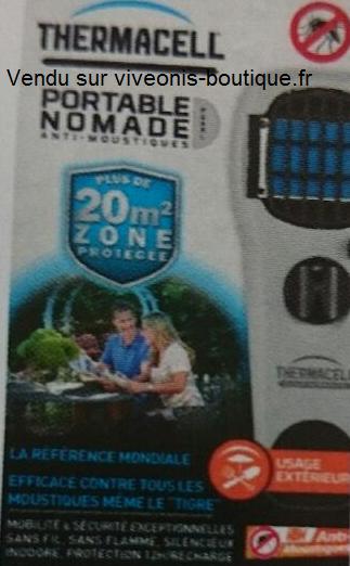 Emballage du Diffuseur Portable Nomade Anti-Moustiques ThermaCELL Pearl vendu sur viveonis-boutique.fr