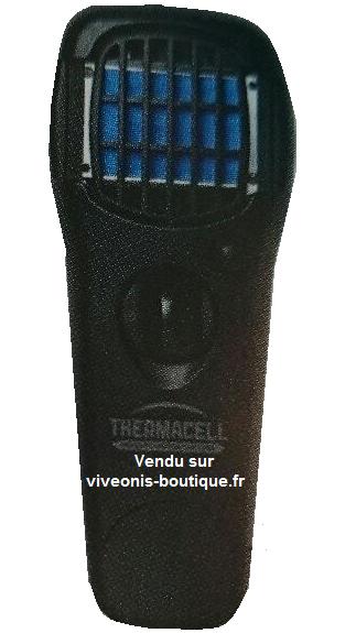 Diffuseur Portable Anti-Moustiques ThermaCELL nomade Noir Black vendu sur viveonis-boutique.fr