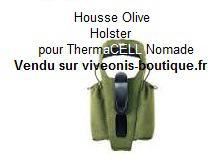 Housse-Holster pour portable Nomade Anti-Moustiques ThermaCELL vendu par viveonis