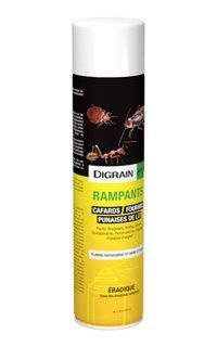 Rampants Digrain aérosol insecticide action choc rémanent 600ml