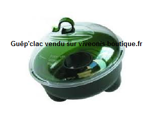 Piège à guêpes Guêp'Clac Protecta vert et transparent