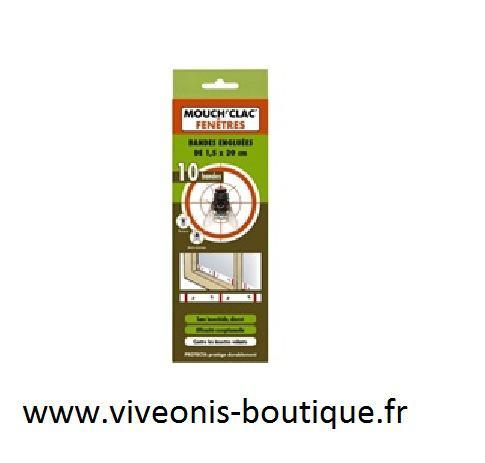 Mouch'clac fenêtres plaque glue anti-mouches