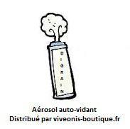 Aérosol Auto-vidant Digrain