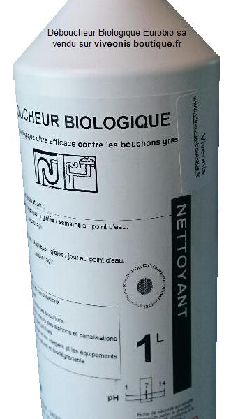 Déboucheur de canalisation 1l Eurobio vendu sur vivoenis-boutique.fr