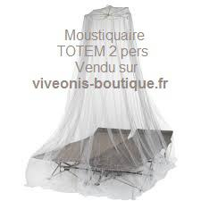 Moustiquaire en image non imprégnée TOTEM 2pers Pharmavoyage vendu sur viveonis-boutique .fr