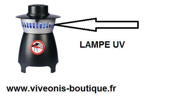 Lampe UV accessoire remplacement pour piège moustiques you get out HBM