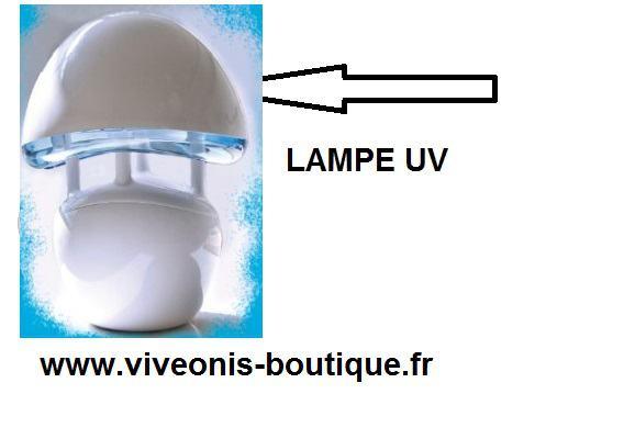 Lampe UV accessoire remplacement pour piège moustiques Boréale you get in HBM
