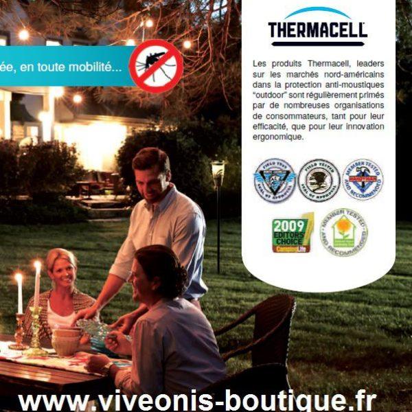 ACCESSOIRES et CONSOMMABLES anti-moustiques Thermacell