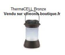 Lanterne Bronze Anti-moustiques ThermaCELL portable