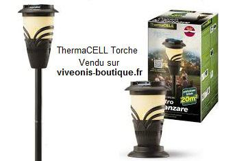 Torche Anti-moustiques ThermaCELL portable