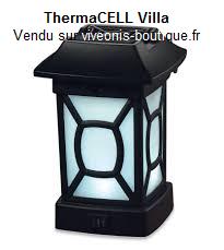 Lanterne Villa Anti-moustiques ThermaCELL portable