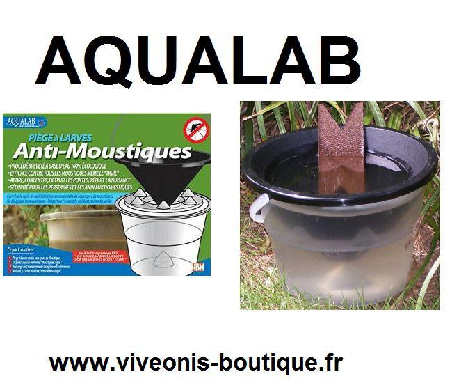 AQUALAB® Piege à Larves anti-moustique Aedes Control Project