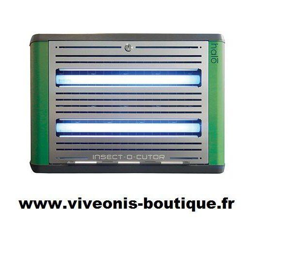 Destructeur Electronique d'Insectes Volants HALO Shades Vert 30W