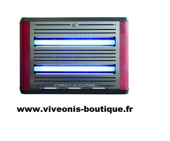 Destructeur Electronique d'Insectes Volants HALO Shades Rouge 30W