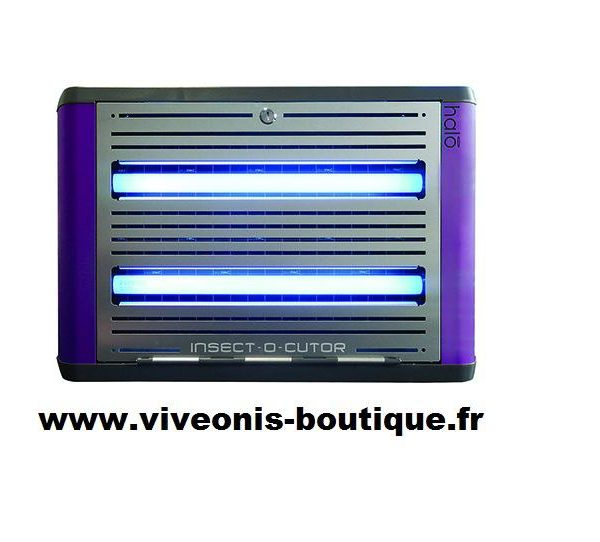 Destructeur Electronique d'Insectes Volants HALO Shades Violet 30W