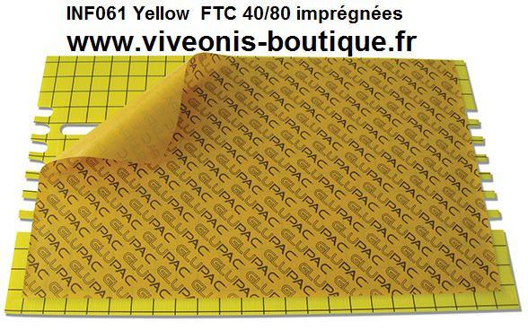 PLAQUES GLUE JAUNE INF061 pour DIV FLYTRAPCommercial imprégnée 365mm x 600mm