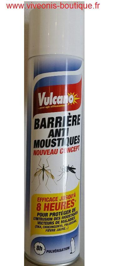 Barrière anti-moustiques nouveau concept Vulcano 400ml
