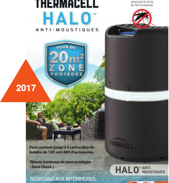 Diffuseur anti-moustiques Halo Thermacell
