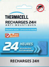 Recharge Thermacell 24h anti-moustiques pour campeur