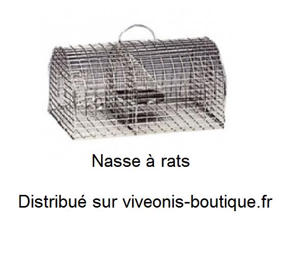 Nasse à rats pour piégeage