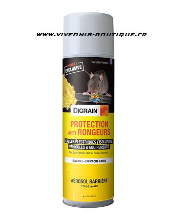 PROTECTION ANTI-RONGEURS Aérosol barrière