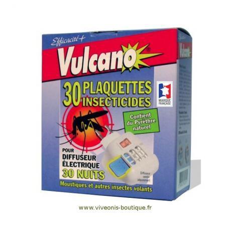 Diffuseur Electrique Liquides et Pastilles anti moustique vulcano